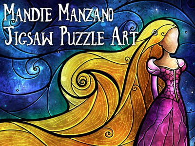 Mandie Manzano Jigsaw Puzzle Art: The Perfect Fit!